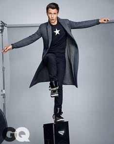 Ansel Elgort, Man of The Year? More like Man of Forever. @gqmagazine | Insurgent