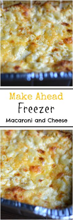 Getting Sunday and Holiday Dinners Ready Ahead of Time with My Make Ahead Freezer Macaroni and Cheese. Getting Sunday and Holiday Dinners Ready Ahead of Time with My Make Ahead Freezer Macaroni and Cheese. Make Ahead Freezer Meals, Freezer Cooking, Easy Meals, Weeknight Meals, Freezable Meals, Crockpot Recipes, Cooking Recipes, Freezer Recipes, Pasta Recipes