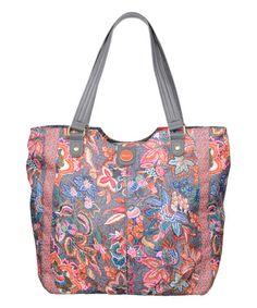 Another great find on #zulily! Dove Jatin Flowers City Shopper #zulilyfinds