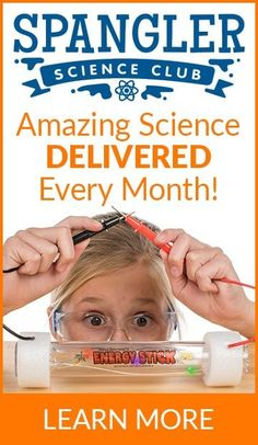 Spangler Science Club - Amazing Science Delivered Every Month! - Learn More