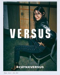 Bella Hadid Zayn x Versus Versace, Белла Хадид Zayn x Versus Versace
