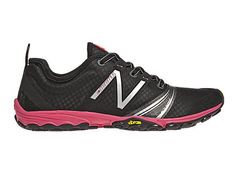 Minimus Trail V2 WT20 Black / Pink - Womens  An entirely different approach to trail running, the New Balance Minimus WT20 Trail takes the versatile durability of a Vibram outsole and combines it with a fitted, minimalist upper for a lightweight barefoot experience.