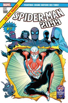 Spider-Man 2099 #1 Previews Exclusive Variant - Will Sliney