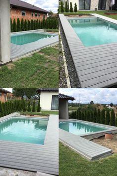 I 6m prkna umí vyrobit společnost WPC Woodplastic. Vaše terasa tak bude beze spár. Swimming Pools Backyard, Outdoor Decor, Home Decor, Decoration Home, Room Decor, Backyard Pools, Interior Decorating