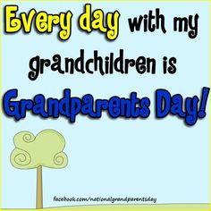 Grandparents are so important!  I'm so grateful for mine and for my kid's grandparents!