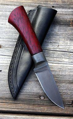 Blood'n'vine - smaller hunter knife - Petr Melicharek