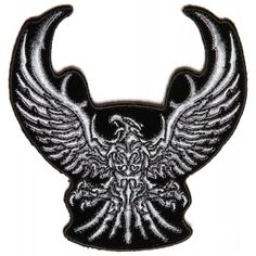 Iron on patches Eagle patch Patches for jackets