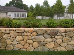 rock retaining wall ideas | Retaining Walls