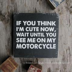 Motorcycle Sign Motorcycle Wall Art Gift for Him Motorcycle