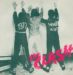 """The Clash - 'White Riot / 1977' - 7"""" (1977)"""
