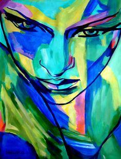 "Saatchi Art Artist: Helena Wierzbicki; Acrylic 2013 Painting """"Numinous emotions"" - SOLD"""