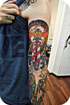 Lighthouse tattoo-inspiration
