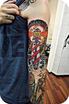 Lighthouse tattoo-inspiration