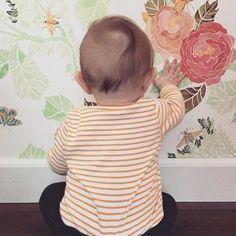 Watercolor Peony Wallpaper - anthropologie.com