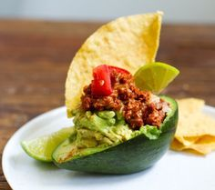 Guac-A-Taco (Vegan Taco-Stuffed Avocado) / 19 Deliciously Stuffed Vegetables
