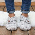 Women's and mens Sunday Slippers – Free Crochet Slippers Pattern