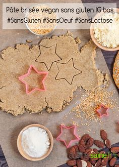 Gluten-free vegan shortbread IG low I previously told you about gluten-free flours with a low or moderate glycemic… by camillesteemer Patisserie Vegan, Patisserie Sans Gluten, Gluten Free Flour, Vegan Gluten Free, Vegan Shortbread, Vegan Sweets, Gingerbread Cookies, Coco, Index