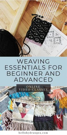 Web basics for beginners and advanced users Online video courses weaving with . : Web basics for beginners and advanced users Online video courses weaving with …, # Weaving Loom Diy, Weaving Art, Weaving Patterns, Tapestry Weaving, Wall Tapestry, Stitch Patterns, Knitting Patterns, Hand Weaving, Weaving Projects