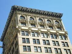 Building at 408 S. Spring St. (Top), Los Angeles.JPG