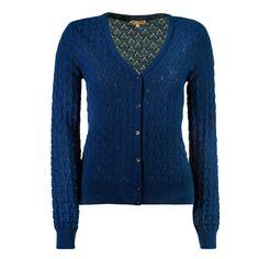 Mooie kwaliteit vestje 'Cleo' van Who's That Girl in donkerblauw ✓ Voor 21.00 uur besteld, morgen in huis