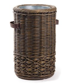 Another great find on #zulily! Antique Walnut Brown Umbrella Stand by The Basket Lady #zulilyfinds