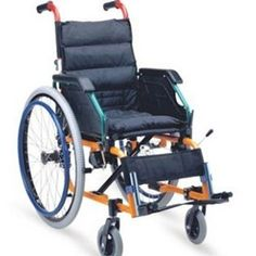 """Buy Arrex Canada Enu Wheelchair For Kids & Young Adults at Cheapest Price, Rs. 12,740 only By Senior Shelf  Self Propelled Wheelchair for Teenagers and Young adults , it comes with a removable back cushion. The armrest is detachable for easy access. Additional Calf strap & Hand Brakes for safety & control. Seat width : 14 """" , Overall width : 20"""" , easy to maneouver in narrow spaces."""