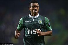 Nani - Epoca 2014-15 jogador emprestado pelo ManUnited ao SCP