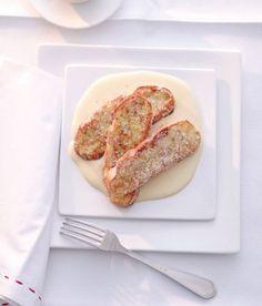 Menü 2 - Dessert: Arme Ritter mit Passionsfrucht-Sabayon - Rezepte: Hochzeitsmenüs - 8 - [ESSEN & TRINKEN]