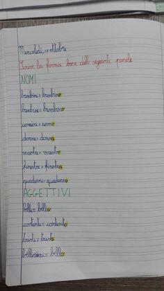 Classe Terza- Italiano- Ordine alfabetico-Dizionario-Sinonimi e Contrari- Settembre e Ottobre - Maestra Anita Bullet Journal, 3, Classroom