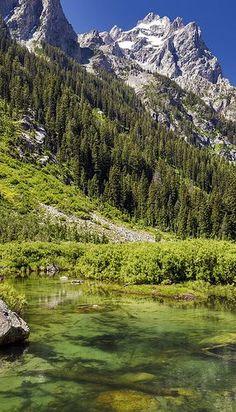 Jenny Lake, Cascade Canyon Trail, Grand Teton National Park, Wyoming