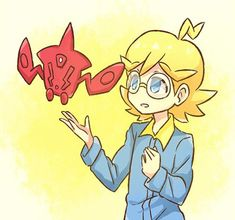 Clemont and Rotom Dex ^^❤