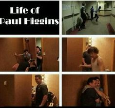 I feel sorry for Paul the boys give him more trouble then the fans lol jk