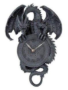 Billedresultat for gothic decor Fantasy Dragon, Dragon Art, Dragons, Gothic Furniture, Gothic House, Home And Deco, Mumbai, Steampunk, Skull