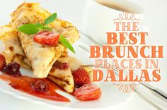 A lazy weekend morning the the perfect excuse to hop over to one of Dallas' many brunch spots. Here are a few of our favorites— the best brunch restaurants in Dallas! Dallas Fort Worth Texas, Dallas Texas, Dallas Brunch, Best Brunch Places, Moving To Dallas, Dallas Restaurants, Brunch Spots, Texas Travel, Places To Eat