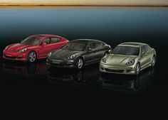 """The Panamera models. Four-doors. Four-seats. Sports car technology for four. Comfort and everyday practicality without compromise. Efficient drive concepts, a lightweight body, and highly dynamic. This is the principle of """"Porsche Intelligent Performance"""". http://www.porsche.com/microsite/panamera-4/"""