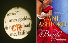 Presenting Episode 3 of the Cardigan Rippers podcast, a review of The Bride Insists by Jane Ashford. Hosted by Amytha Willard and Sarah Neeri, two librarians from Santa Clara County Library District who love to read romance novels. http://www.inthestacks.tv/2015/09/guest-librarian-cardigan-rippers-episode-3-the-bride-insists/