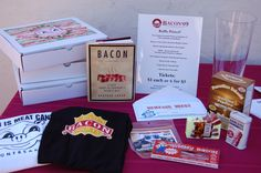 """Bacon Day: Saturday, Sept. 5, 2015. Everything you need to know about bacon is at this site. You're welcome. Note: International Bacon Day here in the U.S. is always (unofficially) celebrated the Saturday before Labor Day. Bacon Day was conceived in Bedford, MA in 2000 by a bunch of grad students. Their celebratory chant: """"Bacon is a vegetable!"""" You can look it up."""