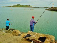 Howth, Ireland - fishing