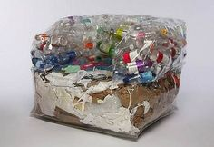 Recycled bottle plastik sofa