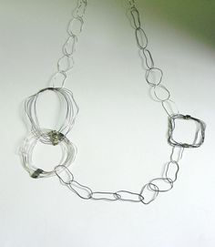 IM VI | Sterling Silver Chain Necklace - Jewellery Online Store Silver Chamber BY ILUMINADA MENDES -  detail - 395£