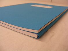 Wire-O binding / Wire-O gebonden brochure met bladwijzer als achterplat