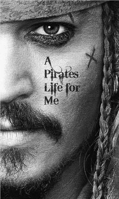 A pirate's life for me... (the fun storybook kind, not the modern Somalian kind)