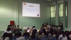 April, 2014: Programme held by the Psychology Club