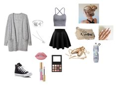 """Ballet"" by shawin-ary ❤ liked on Polyvore featuring EF Collection, Converse, Lime Crime and Yves Saint Laurent"