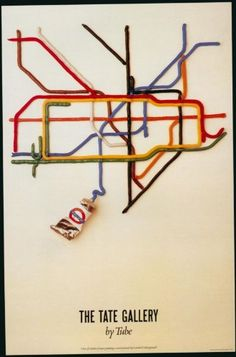 6. El likes, K doesn't London Underground - The Tate Gallery By Tube 1987 - LU126 Superior Canvas A1 Size: Amazon.co.uk: Kitchen & Home