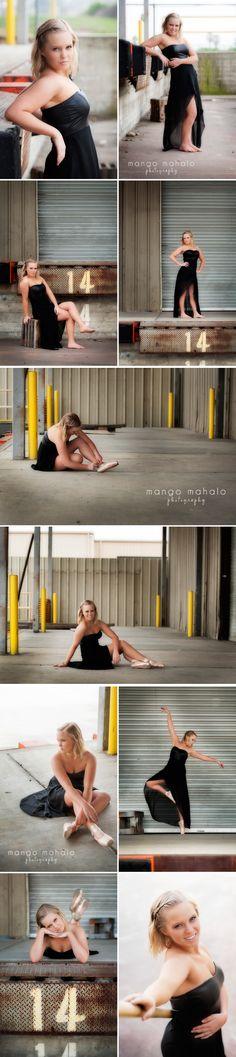 {God girl} senior portraits by Mango Mahalo Photography by Michelle Anderson #ballet #senior girl