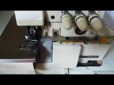 Como colocar e utilizar aparelho de viés/vivo na máquina Overlock #tutorial - YouTube
