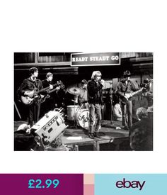Posters The Yardbirds Live On Stage Bw Poster #ebay #Collectibles