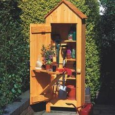 5 Honest Tips AND Tricks: Garden Tool Shed Chicken Coops garden tool storage step by step.Garden Tool Shed Chicken Coops garden tool storage bungee cord. Storage Shed Organization, Garden Tool Storage, Storage Shed Plans, Garden Tools, Garden Sheds, Herb Garden, Small Garden Tool Shed, Garden Gates, Small Shed Plans