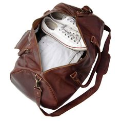 MAHI Leather Duffle Weekend/Overnight/Gym Bag in by MAHILeather
